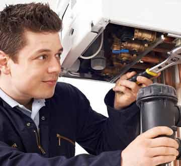 Rental boiler service