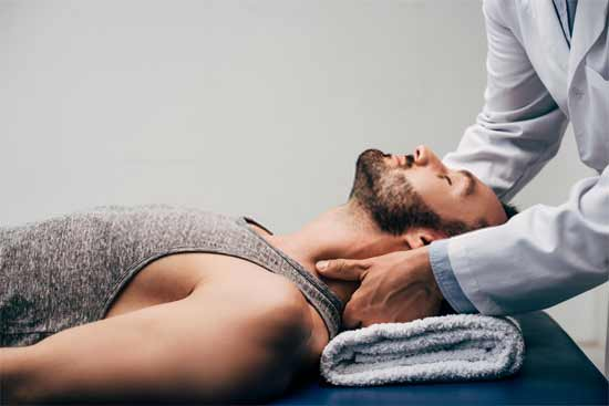 Neck pain and neck massage