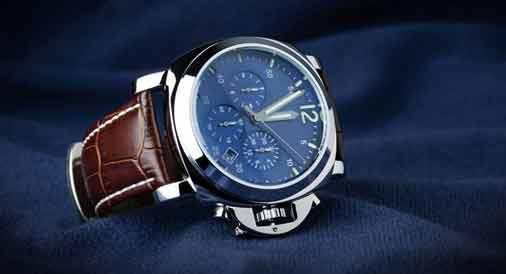 A Custom Leather Watch Strap