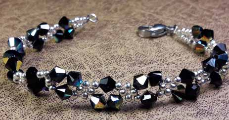 How to Make An Elegant Crystal Bracelet