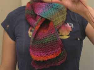 How to get a scarf to form online shop