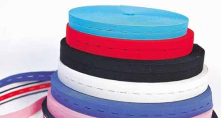 The Process Of An Elastic Webbing