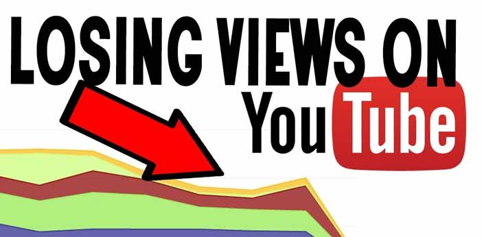 Why am I Losing Views on Youtube