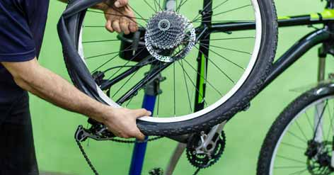 Inspect Your Mountain Bike Tires Carefully