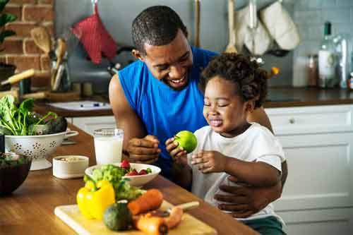 Have a healthy food habit