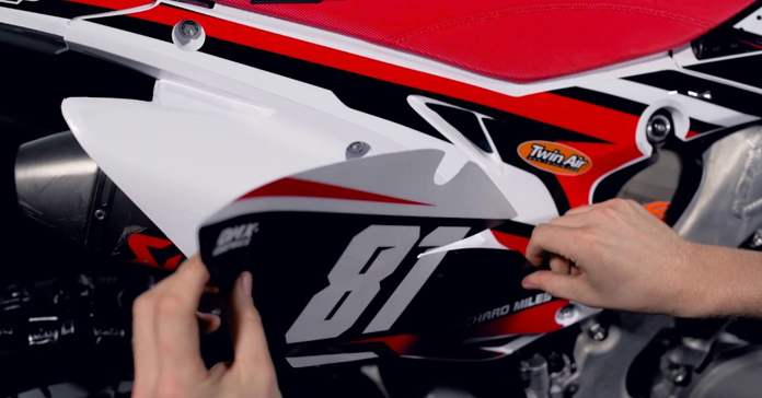 How Thick Are Dirt Bike Graphics And How To Install Them