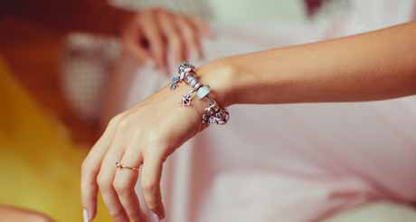To Make a Vintage Charm Bracelet You Will Need