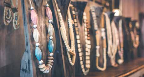 craft store in the jewelry